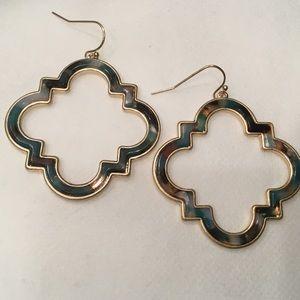 Jewelry - Moroccan Acetate Drop Earrings